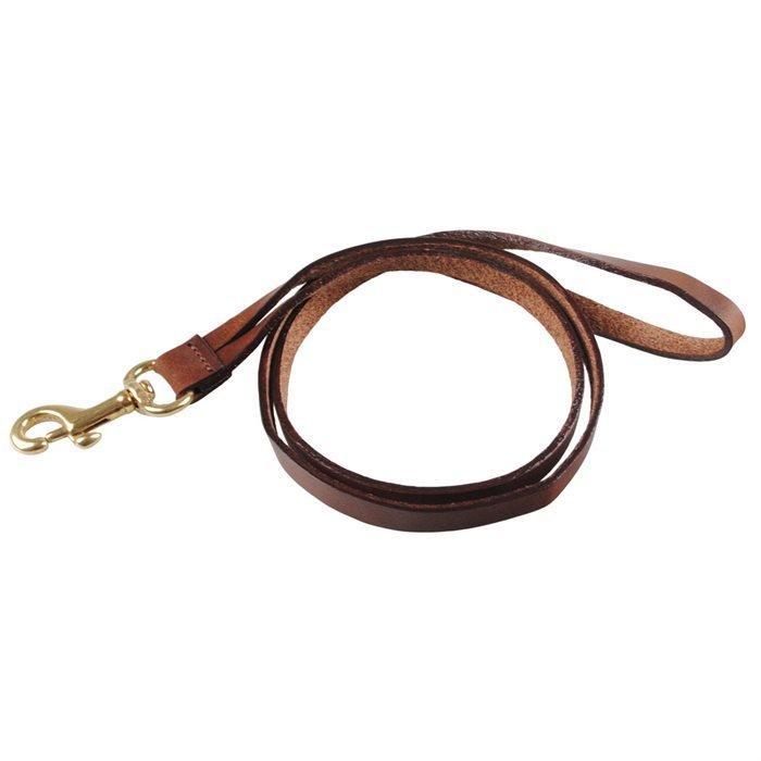 Bosswik Læder Keyhanger 50 cm lang med karabinhage